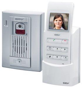 Interphone vidéo sans fil