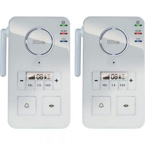 Interphone sans fil m-e GmbH FS 2.1 blanc 99 canaux